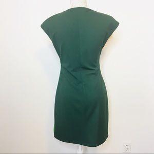 Desigual Dresses - Desigual Sheath Dress Cap Sleeve Green Pink MED